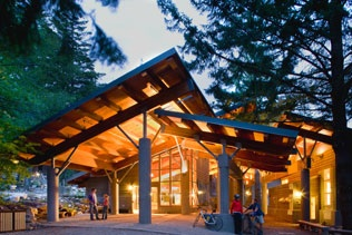 Photo of North Cascades Institute lodge