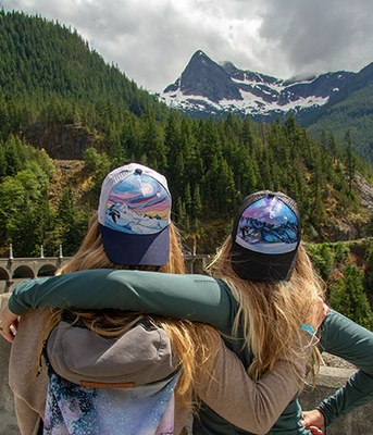 North Cascades Institute X Drawn to High Places Trucker Hat
