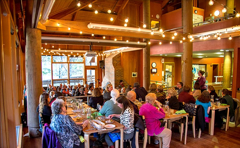 Harvest Dinner at the North Cascades Environmental Learning Center