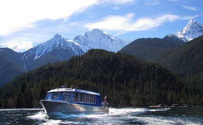 Skagit Tours Diablo Lake and Lunch Boat Tour