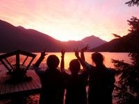 Ross-Lake-Sunset